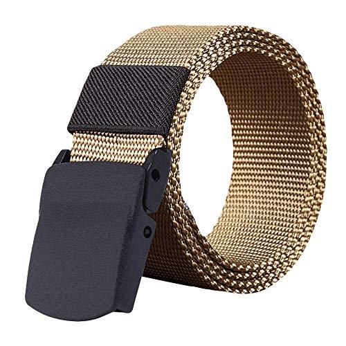 Meisiqw Nylon Belt Outdoor Military Web Belt Men Tactical Webbing Belt Fashion Man Women Canvas Belt 1 Pack Daddy's Gift