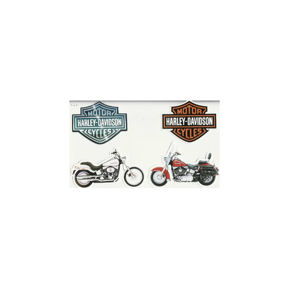Harley Davidson Motorcycle Cut Outs Stickers