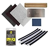 Demon United Ski and Snowboard Base Care Kit- Ski and Snowboard Base Repair Kit (Combo Ptex 5 BLK/5WHT)