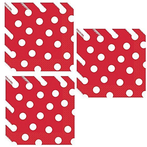 Red P (Red Minnie Party Supplies)