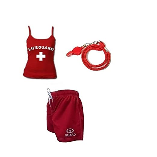 f581e79c1bfa Lifeguard Master RED Lifeguard Fitted Spaghetti