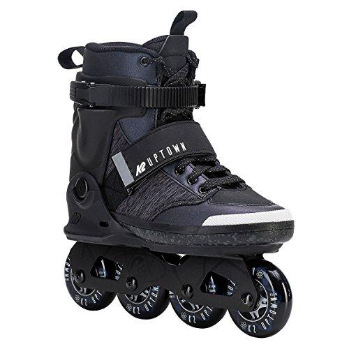 元気な灰立ち向かうK2(ケーツー) インラインスケート 2018 UPTOWN Black-Purple 男性用 I180202501 日本正規品 保証書あり