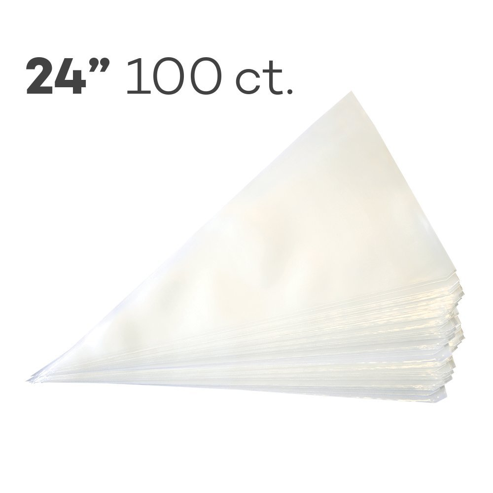 Cake S.O.S. Piping Bags 24'', Pack of 100