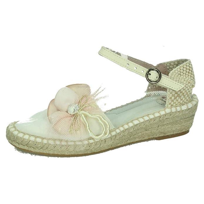 ZOYSAN CZ15 ESPARTEÑAS COMUNIÓN NIÑA Zapato COMUNIÓN: Amazon.es: Zapatos y complementos