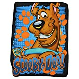 Northwest Kids Fleece Throw Blankets 45'' x 60'' Several Options (Scooby Doo)