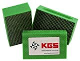 KGS Diamond Hand Polishing pads (3 Pack, Grit 60 (green))