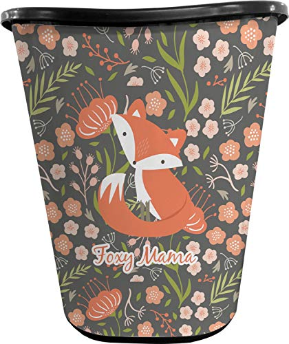 (RNK Shops Foxy Mama Waste Basket - Double Sided (Black))