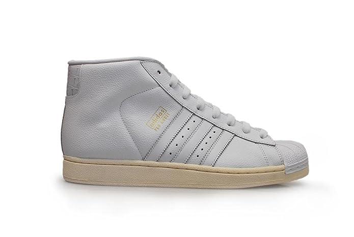 Amazon.com | adidas Originals PRO Model Mens hi Tops Trainers Sneakers Shoes (UK 11.5 US 12 EU 46 2/3, FTWWHT/FTWWHT/Owhite B25424) | Fashion Sneakers