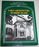Early Architecture of Rhode Island, , 0918678250