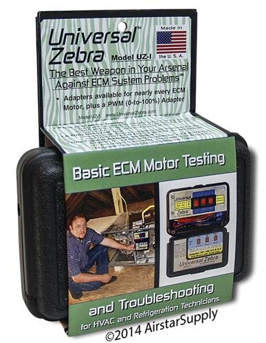 Zebra Instruments , # UZ-1 / UZ1 Universal Zebra - Basic ECM Motor Testing and Troubleshooting by Zebra Instruments (Image #3)