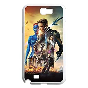 QSWHXN Diy Phone Case X Men Pattern Hard Case For Samsung Galaxy Note 2 N7100