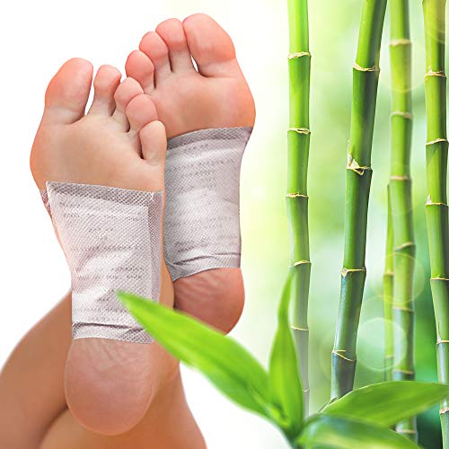 Foot Pads for Your Health Care - 10 Premium Natural Foot Patches - Adhesive Foot Pads for Foot Pain Relief - Eliminator Unpleasant Odors of Feet - Stick on Foot Pads