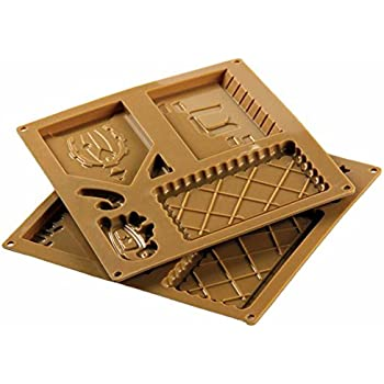 Santa House Chocolate Mold Ginger Bakery Silicone Mold Fondant Cake Decoration Christmas Gingerbread House Silicon Mold Set Kangsanli
