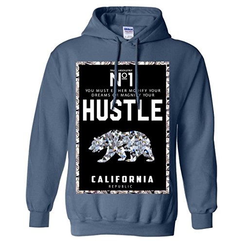 California Republic No. 1 Diamond Hustle Sweatshirt Hoodie