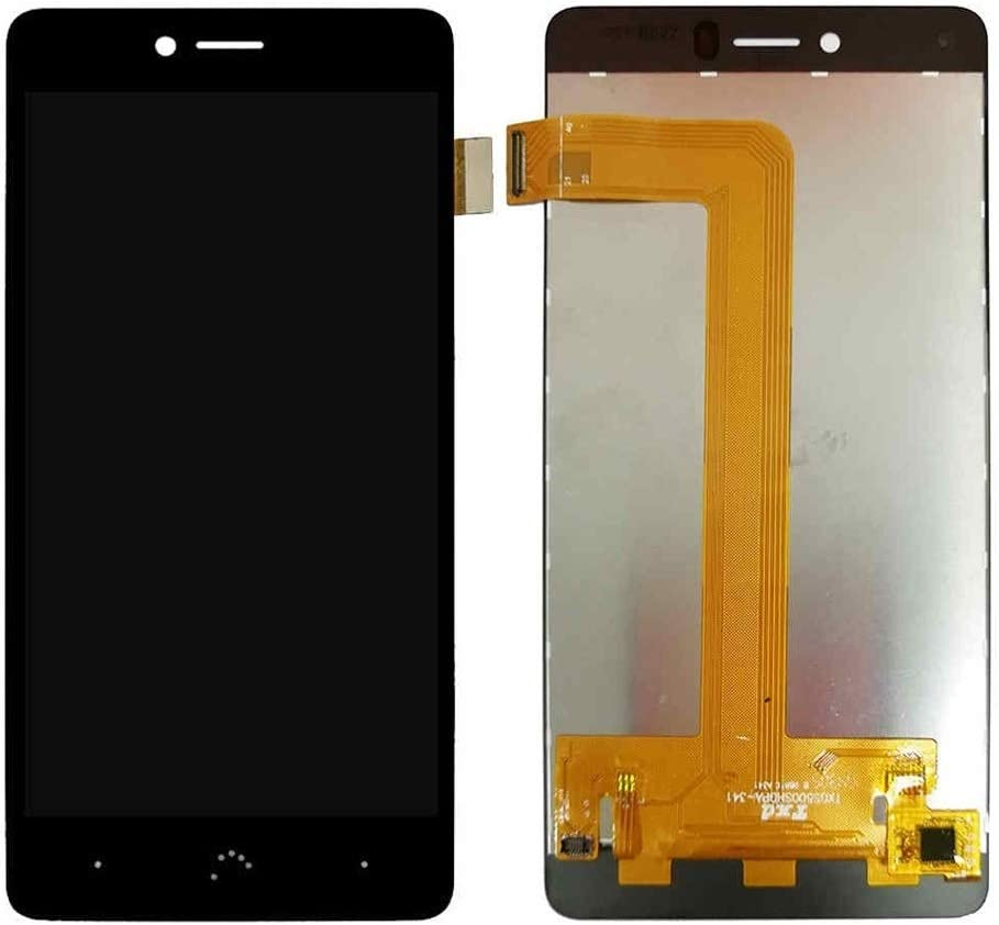 Color : Black LCD Screen Mobile Phone and Digitizer Full Assembly for BQ Aquaris U//U Lite//U Plus Black