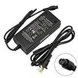 42V 2A Lithium Battery Charger Adapter for Electric Scooter Razor Scooter, 3-Prong Inline Replace Part# W15155059014, QCF3601P1A100