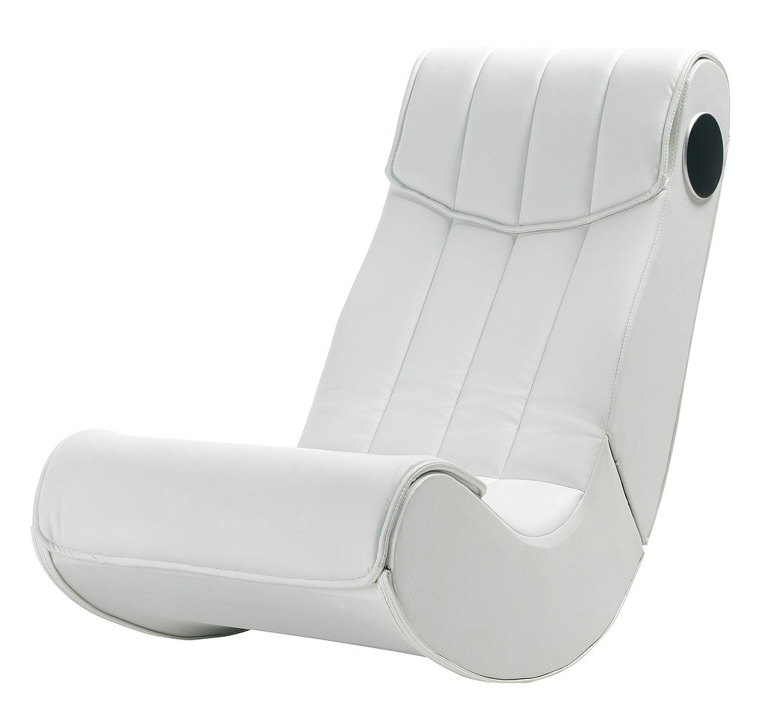 Music Rocker basic - Sillón musical, color blanco: Amazon.es ...