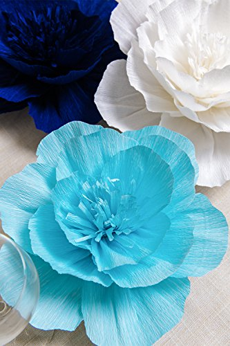 Paper-Flower-Decorations-Giant-Paper-Flowers-Navy-Blue-Light-Blue-White-Set-of-7-Large-Paper-Flowers-Crepe-Paper-Flowers-for-Wedding-Nursery-Wall-Decoration-Baby-Shower-Bridal-Shower