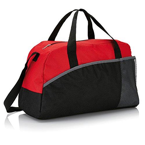XD-Borsone da Sport, grande formato, 44 cm, 30 L, colore: rosso