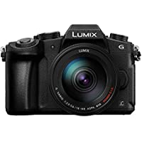 Panasonic LUMIX DMC-G85 4K Mirrorless Interchangeable Lens Camera Kit, 14-140mm Lens, 16 Megapixel (International Model No Warranty) (Black)