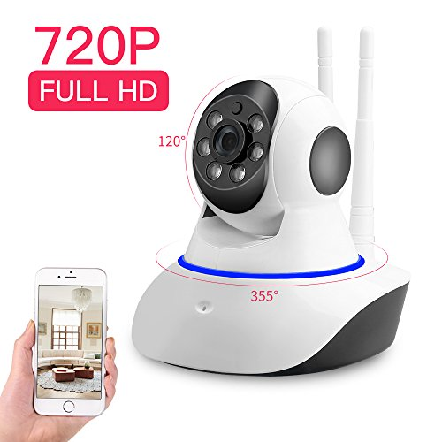 SDETER Security Camera 720P HD Wifi