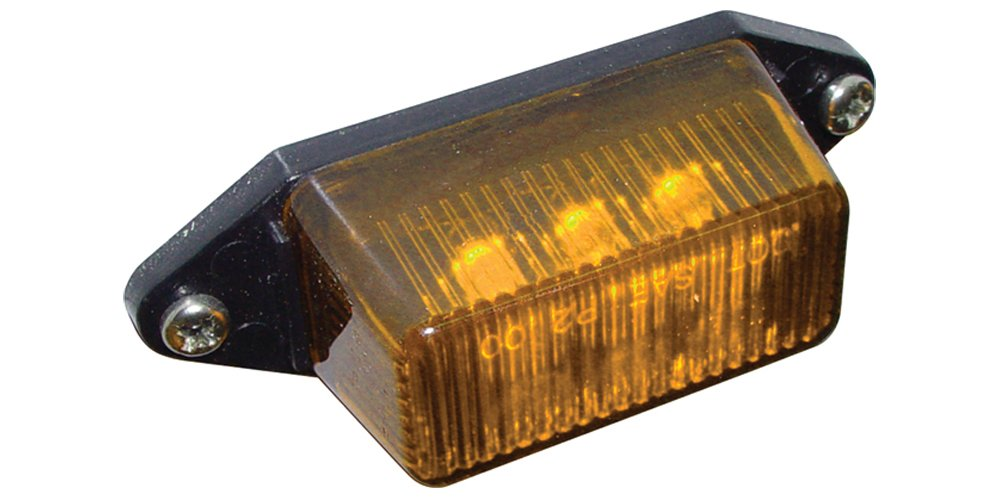50080277 SeaSense LED 12-Volt Clearance Lights 6 1//2-Inch Pigtail Amber