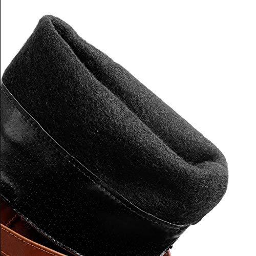 Long AicciAizzi Boots on Women Pull Brown Low Heel axztwSq8Hz