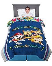 "Franco Kids Bedding Soft Comforter, Twin/Full Size 72"" x 86"", Paw Patrol"