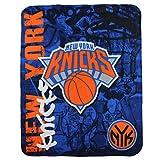 """NBA Lightweight Fleece Blanet (50"""" x 60"""") - New York Knicks"""