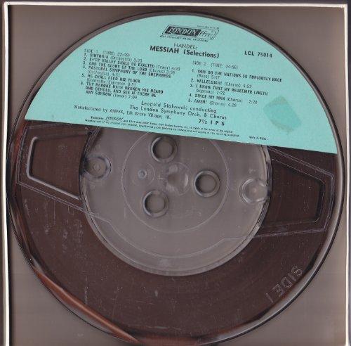 Handel: Messiah (Excerpts) (reel to reel tape)