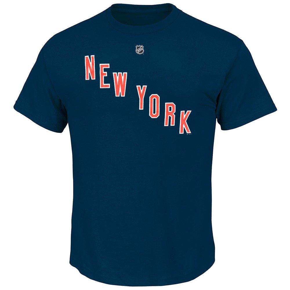 Amazon.com   Henrik Lundqvist New York Rangers NHL Reebok Men Navy Blue  Player Name   Number Jersey T-Shirt (2XL)   Sports   Outdoors 890d55fc9