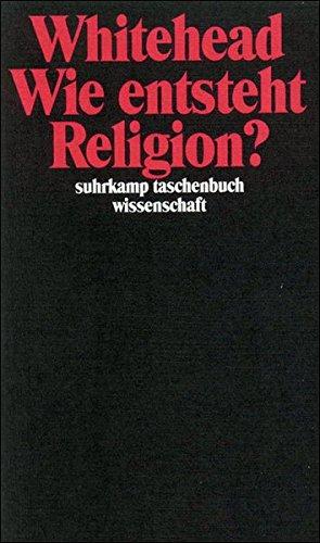 Wie Entsteht Religion   Suhrkamp Taschenbuch Wissenschaft
