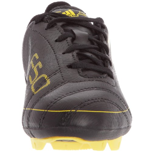 adidas F5TRX HG J–Zapatillas Fútbol Terreno Duro Niño–Negro/Sol/Sol
