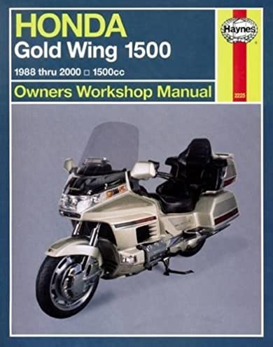 honda gl1500 gold wing 88 00 haynes repair manuals haynes rh amazon com 1984 Honda Goldwing Aspencade Specs 1984 Honda Goldwing GL1200