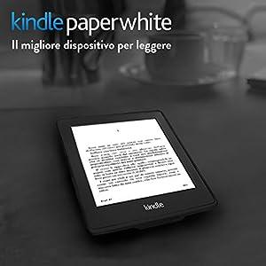 """Kindle Paperwhite (6ª generazione), schermo da 6"""" ad alta risoluzione (212 ppi) con luce integrata, Wi-Fi"""