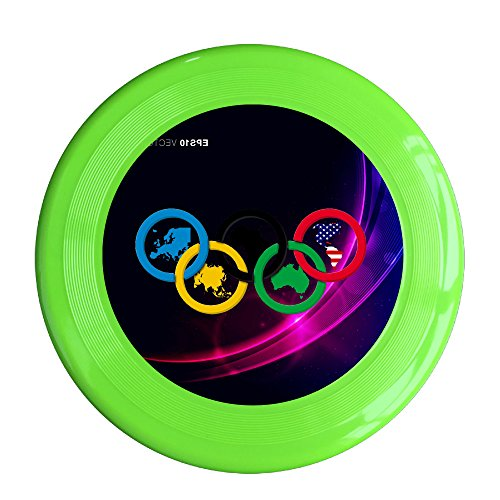 Kim Lennon Brazil Rio De Janeiro Sport Games Custom Sport Plastic Flying Disc Colors And Styles Vary KellyGreen Size One Size