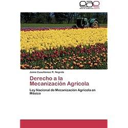 Derecho a la Mecanizacion Agricola