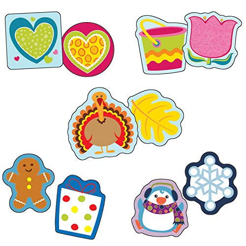 Carson-Dellosa Seasonal Assorted Mini Cut-Outs Set ()