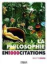 La philosophie en 1000 citations par Evano