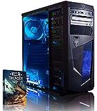 Vibox VBX-PC-00040 Vision 2 Gaming Desktop-PC (AMD A Series A4-6300, 8GB RAM, 1TB HDD, AMD Radeon HD 8370D, kein Betriebssystem) blau