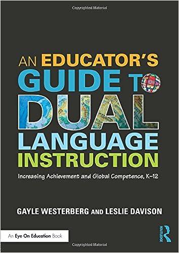 Amazon An Educators Guide To Dual Language Instruction