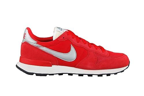 Nike Internationalist, Zapatillas para Hombre, Rojo (University Red/Metallic Silver), 38.5 EU: Amazon.es: Zapatos y complementos