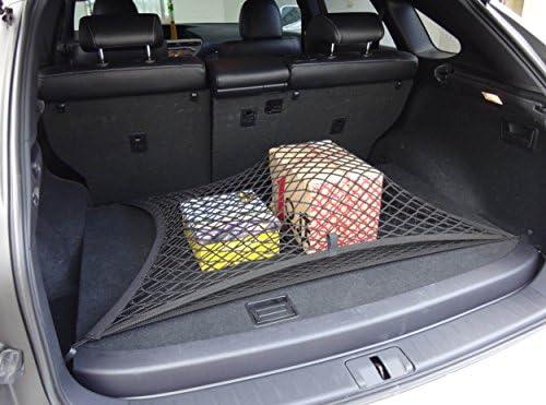 Pegasuss Custom fit High Elastic Floor Style Rear Trunk Storage Luggage Net for BMW X4