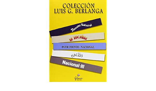 Coleccion Luis G. Berlanga Non-USA DVD format: PAL, Region 2 -Import- Spain: Amazon.es: Cine y Series TV