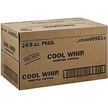 Kraft Frozen Cool Whip Regular Topping, 8 Ounce - 24 per case.