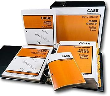 Amazon.com: Case 580B 580Ck B - Juego de herramientas de ...
