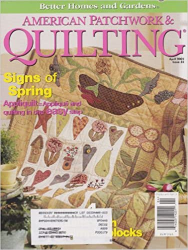 Bestseller eBook kostenlos American Patchwork & Quilting Single Issue Magazine (April 2002) in German PDF FB2 iBook