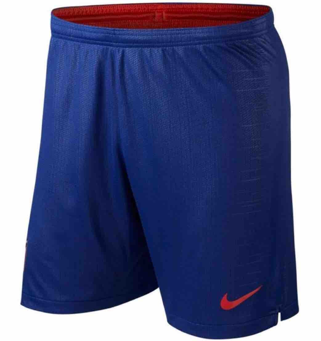 Nike 2018-2019 Atletico Madrid Home Football Shorts (Blau)