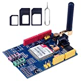 Ocamo SIM900 850/900/1800/1900 MHz GPRS/GSM Development Board Module Kit Arduino