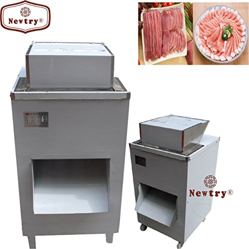 Newtry QJ Vertical type 1000KG/H Commercial Automatic meat slicer Meat Cutter Grinder processing machine with pulley (380V)
